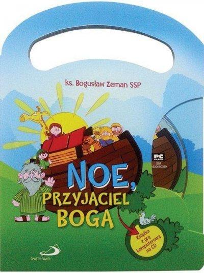 Noe, przyjaciel Boga (+ CD gra - okładka książki