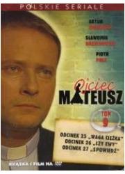 Ojciec Mateusz. Tom IX (książka - okładka filmu