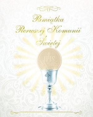 Pamiątka I Komunii Świętej - okładka książki