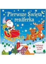 Pierwsze święta Reniferka - okładka książki
