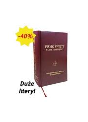 Pismo Święte. Nowy testament - okładka książki