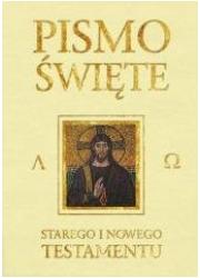Pismo Święte ST i NT beżowe z paginatorami - okładka książki