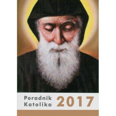 Poradnik Katolika 2017. Św. Charbel - okładka książki