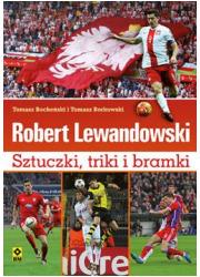 Robert Lewandowski. Sztuczki, triki - okładka książki