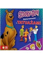 Scooby-Doo. Kolorowanki z tatuażami - okładka książki