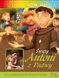 Św. Antoni z Padwy. Kolekcja Ludzie - okładka książki