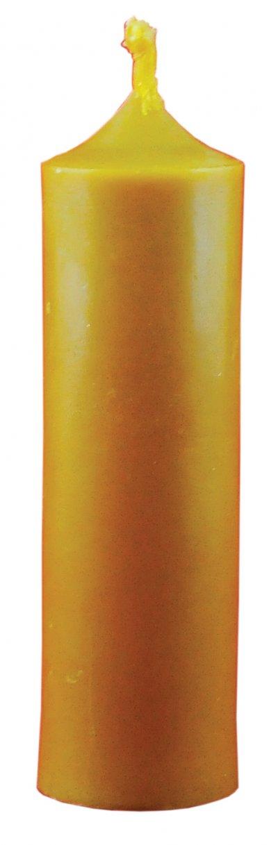 Świeca z wosku pszczelego - zdjęcie akcesoriów