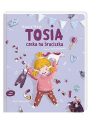 Tosia czeka na braciszka - okładka książki