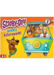 Wielkie kolorowanki cz. 1. Scooby-Doo - okładka książki