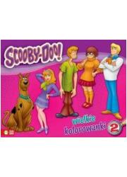 Wielkie kolorowanki cz. 2. Scooby-Doo - okładka książki