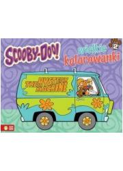 Wielkie kolorowanki. Scooby-Doo - okładka książki