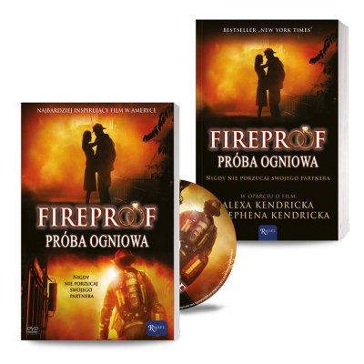 Zestaw Fireproof - okładka książki
