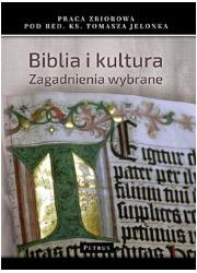 Biblia i Kultura. Zagadnienia wybrane - okładka książki