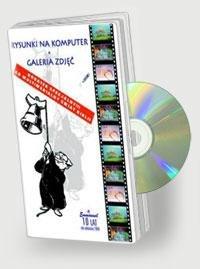 Rysunki na komputer + galeria zdjęć - pudełko programu