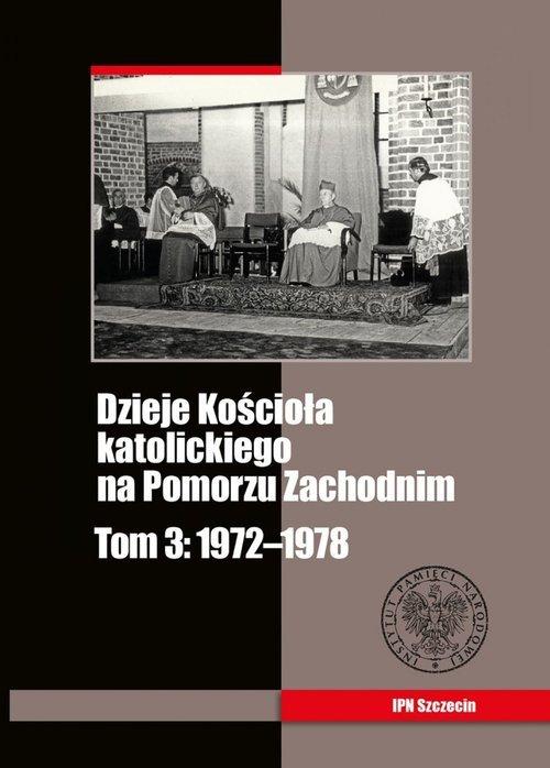 Dzieje Kościoła katolickiego na - okładka książki