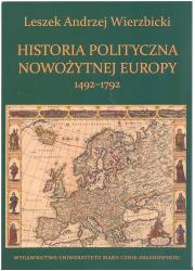 Historia polityczna nowożytnej - okładka książki