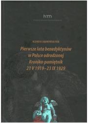 Pierwsze lata benedyktynów w Polsce - okładka książki