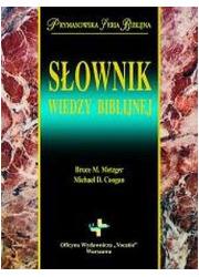 Słownik wiedzy biblijnej. Prymasowska - okładka książki