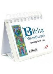 Biblia dla mężczyzn na każdy dzień - okładka książki