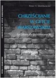Chrześcijanie w getcie warszawskim - okładka książki
