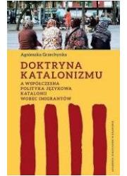 Doktryna katalonizmu a współczesna - okładka książki
