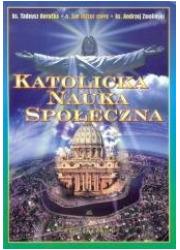 Katolicka Nauka Społeczna - okładka książki