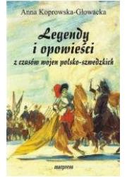 Legendy i opowieści z czasów wojen - okładka książki