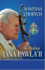 Nowenna chorych do świętego Jana - okładka książki