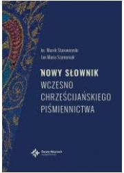 Nowy słownik wczesnochrześcijańskiego - okładka książki