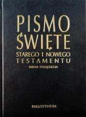 Biblia Tysiąclecia - okładka książki