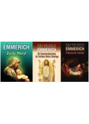 Objawienia Anny K. Emmerich. PAKIET - okładka książki