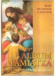 Pamiątka I Komunii - Moje spotkanie - okładka książki
