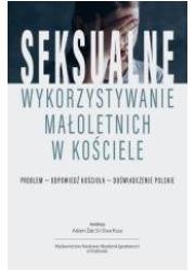 Seksualne wykorzystywanie małoletnich - okładka książki