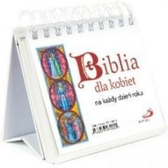 Biblia dla kobiet na każdy dzień - okładka książki