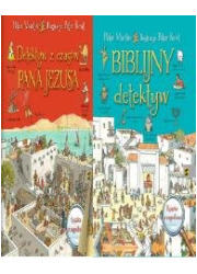 Biblijny detektyw/ Detektyw z czasów... - okładka książki