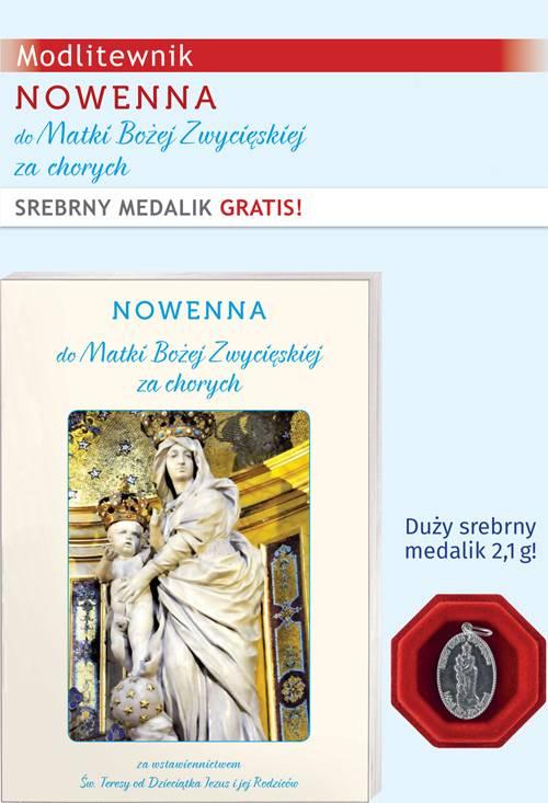 Nowenna do Matki Bożej Zwycięskiej - okładka książki