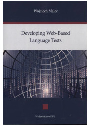 Developing Web-Based Language Tests - okładka książki