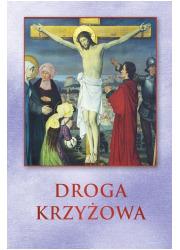 Droga Krzyżowa karty - okładka książki