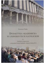 Dydaktyka akademicka w uniwersytecie - okładka książki