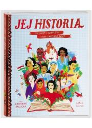 Jej historia. 50 kobiet i dziewczyn, - okładka książki