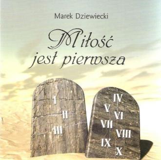 Miłość jest pierwsza miniperełki - okładka książki
