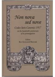 Non nova sed nove. Codex Iuris - okładka książki