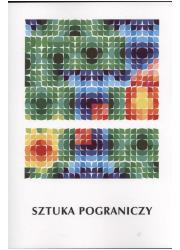 Sztuka pograniczy - okładka książki
