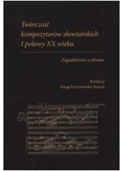 Twórczość kompozytorów słowiańskich - okładka książki