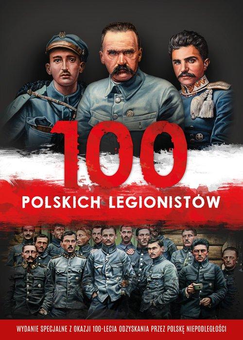 100 polskich legionistów - okładka książki