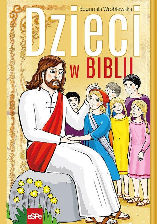 Dzieci w Biblii - okładka książki