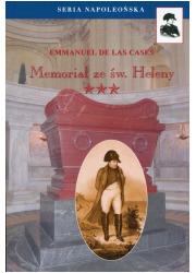 Memoriał ze Św. Heleny. Tom 3. - okładka książki