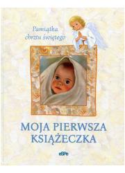 Moja pierwsza książeczka. Pamiątka - okładka książki