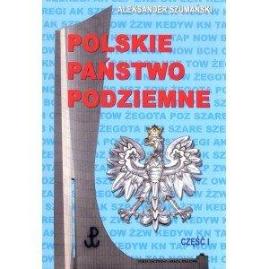 Polskie państwo podziemne cz.1 - okładka książki