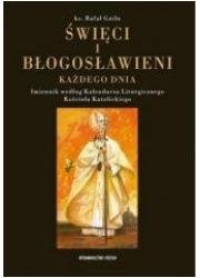Święci i Błogosławieni każdego - okładka książki